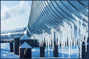 Schutz vor Einfrieren & Feuchtigkeit